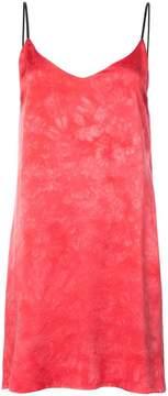 Amiri tie dye slip dress