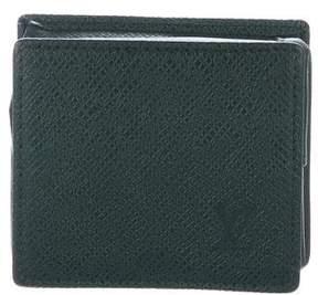 Louis Vuitton Taiga Box Coin Purse
