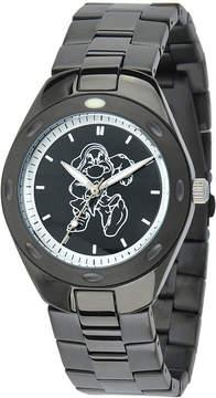 Disney Grumpy Mens Black Stainless Steel Watch