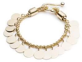 Eddie Borgo Golden Coin Bracelet