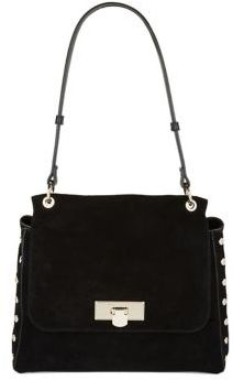 Donna Karan Flip-Lock Shoulder Bag
