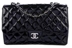 Chanel Mobile Art Jumbo Patent Leather Bag
