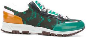 Lanvin colour block sneakers
