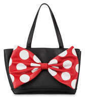 Disney Minnie Mouse Signature Satchel by Loungefly