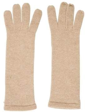 Chanel Fine Knit Cashmere Gloves