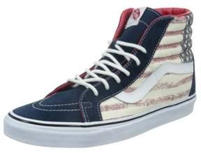 Vans Unisex Sk8-Hi Reissue Americana Sneakers dressblues M6 W7.5
