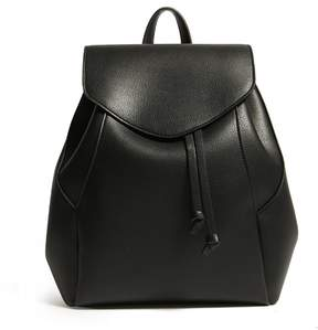 Forever 21 Large Faux Leather Backpack