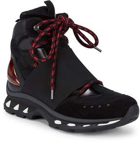 Givenchy Men's Wide-Band High-Top Sneakers