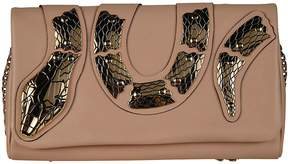 RED Valentino Snake Embellished Clutch