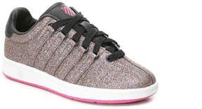 K-Swiss Girls Classic Glitter Youth Sneaker