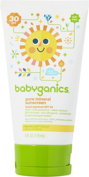 Babyganics Pure Mineral Sunscreen Lotion SPF 30
