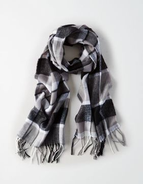 American Eagle Outfitters AE Woven Flannel Scarf