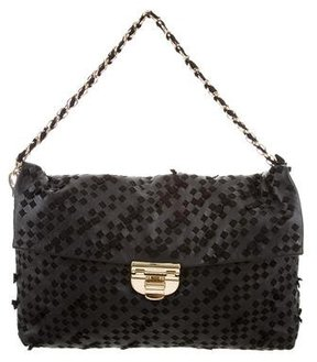 Nina Ricci Woven Leather Bag