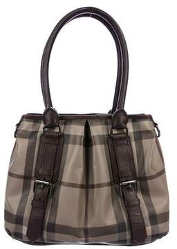Burberry Smoked Check Northfield Tote