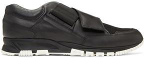 Lanvin Black Strap Sneakers