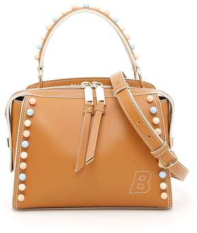 Bally Leather Amoeba Bag