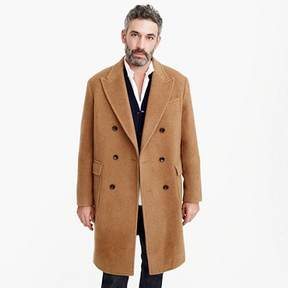 J.Crew Double-breasted topcoat in camel hair