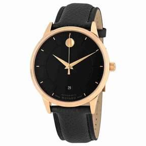 Movado 1881 Automatic Black Dial Men's Watch 0607062