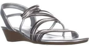Impo Rocio Strappy Slingback Sandals, Pewter Multi.