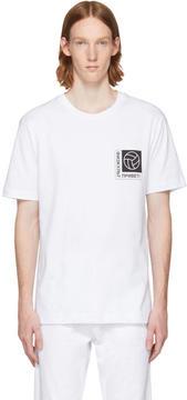 Gosha Rubchinskiy White Football Logo T-Shirt