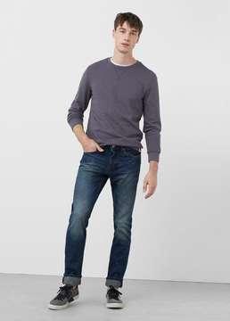 Mango Outlet Slim-fit dark wash Steve jeans