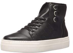 K-Swiss Womens Modern High Leather Hight Top Lace Up Fashion Sneakers.