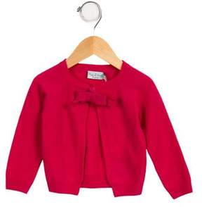 Papo d'Anjo Girls' Cashmere Bow-Accented Cardigan w/ Tags