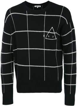 McQ checked jumper