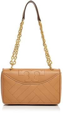 Tory Burch Alexa Leather Shoulder Bag - AGED VACHETTA/GOLD - STYLE
