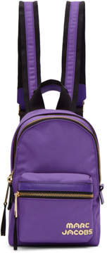 Marc Jacobs Purple Mini Backpack