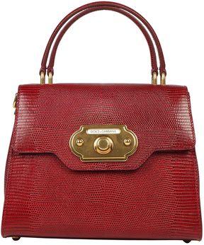 Dolce & Gabbana Welcome Handbag - RUBINO - STYLE