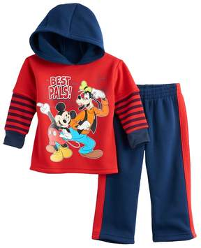 Disney Disney's Mickey Mouse Baby Boy Hoodie & Pants Set