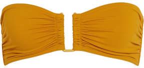 Eres Les Essentiels Show Bandeau Bikini Top - Saffron