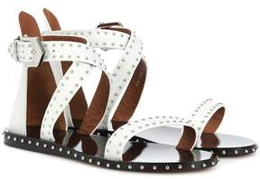 Givenchy Studded leather sandals