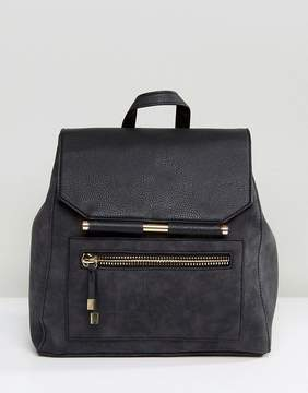 New Look Metal Detail Backpack