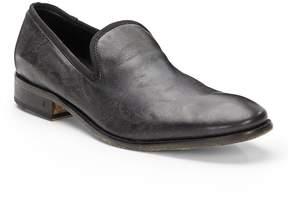 John Varvatos Men's Richards Paisley Print Leather Slip-On
