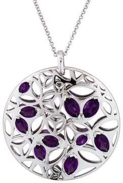 Di Modolo Amethyst Medallion Pendant Necklace