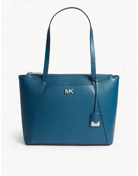 MICHAEL Michael Kors Maddie medium grosgrain leather tote