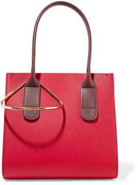 Roksanda - Weekend Mini Two-tone Textured-leather Tote