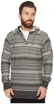 VISSLA Viajero Pullover Henley Fleece Top Men's Clothing