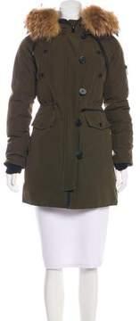 Barneys New York Barney's New York Hooded Short Coat