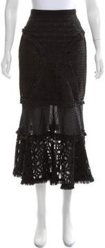 Andrew Gn Lace Midi Skirt