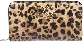 Dolce & Gabbana Leopard Zip-over Wallet - MULTICOLOR - STYLE