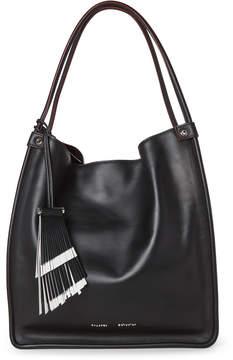 Proenza Schouler Black Medium Soft Leather Tote