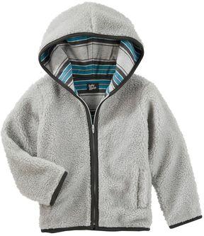 Osh Kosh Toddler Boy Sherpa Zip Jacket