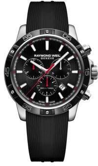 Raymond Weil Tango 300 Round Rubber Strap Analog Watch