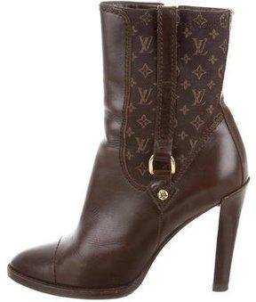 Louis Vuitton Monogram Ankle Boots