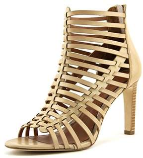 Elie Tahari Huarez Open Toe Leather Sandals.