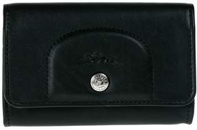 Longchamp Card Holder Le Cuir Pliage - BLACK - STYLE