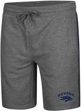 Colosseum Men's Nevada Wolf Pack Sledge II Terry Shorts